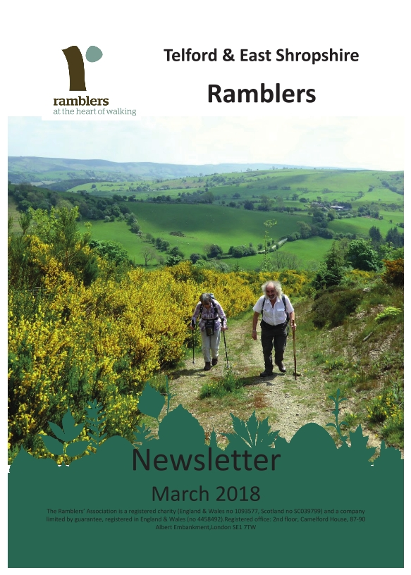 Newsletter Cover March 2018