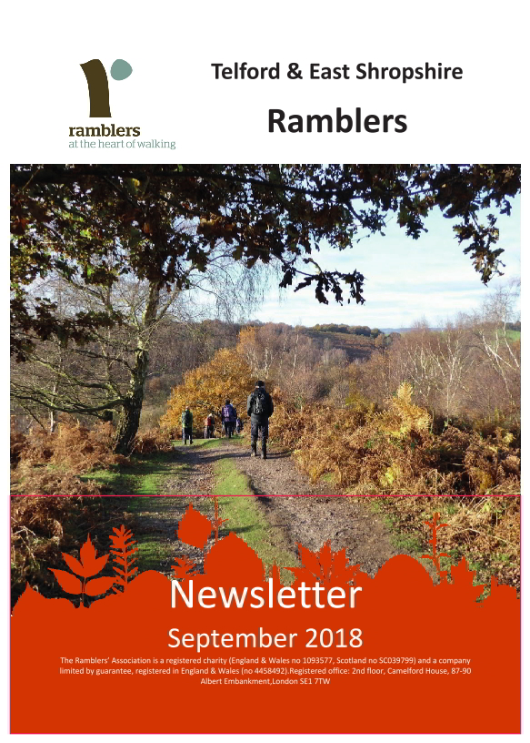 Newsletter Cover Sept 2018