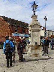 Dawley Captain Webb Monument