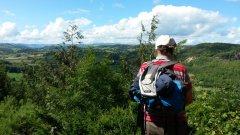 Blodwel Rocks Viewpoint Llynclys